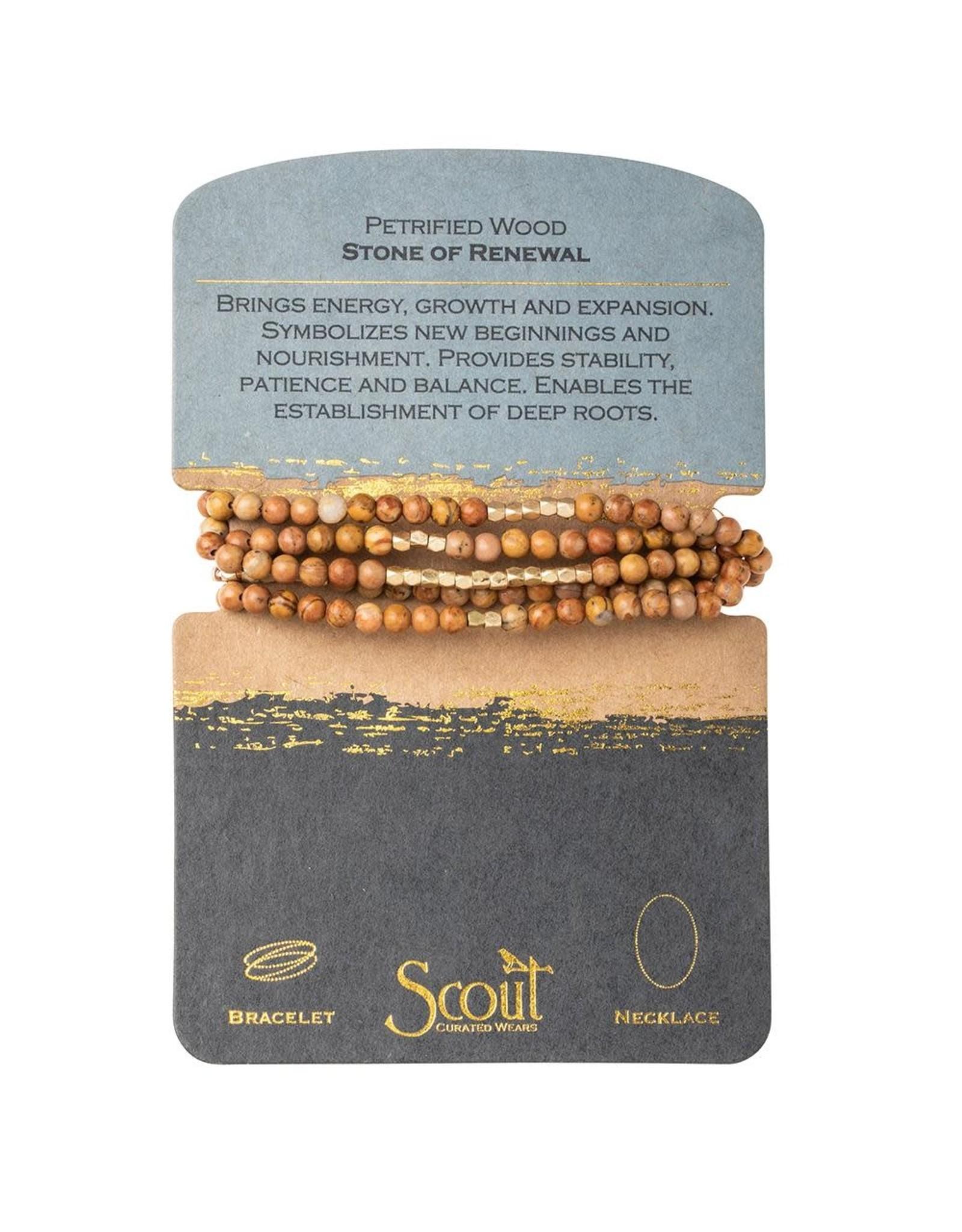 Scout SW033 Petrified Wood - Stone of Renewal