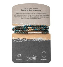 Scout SW028 Blue Sky Jasper - Stone of Empowerment