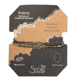 Scout SD009 Delicate Stone Pyrite - Stone of Positive Energy