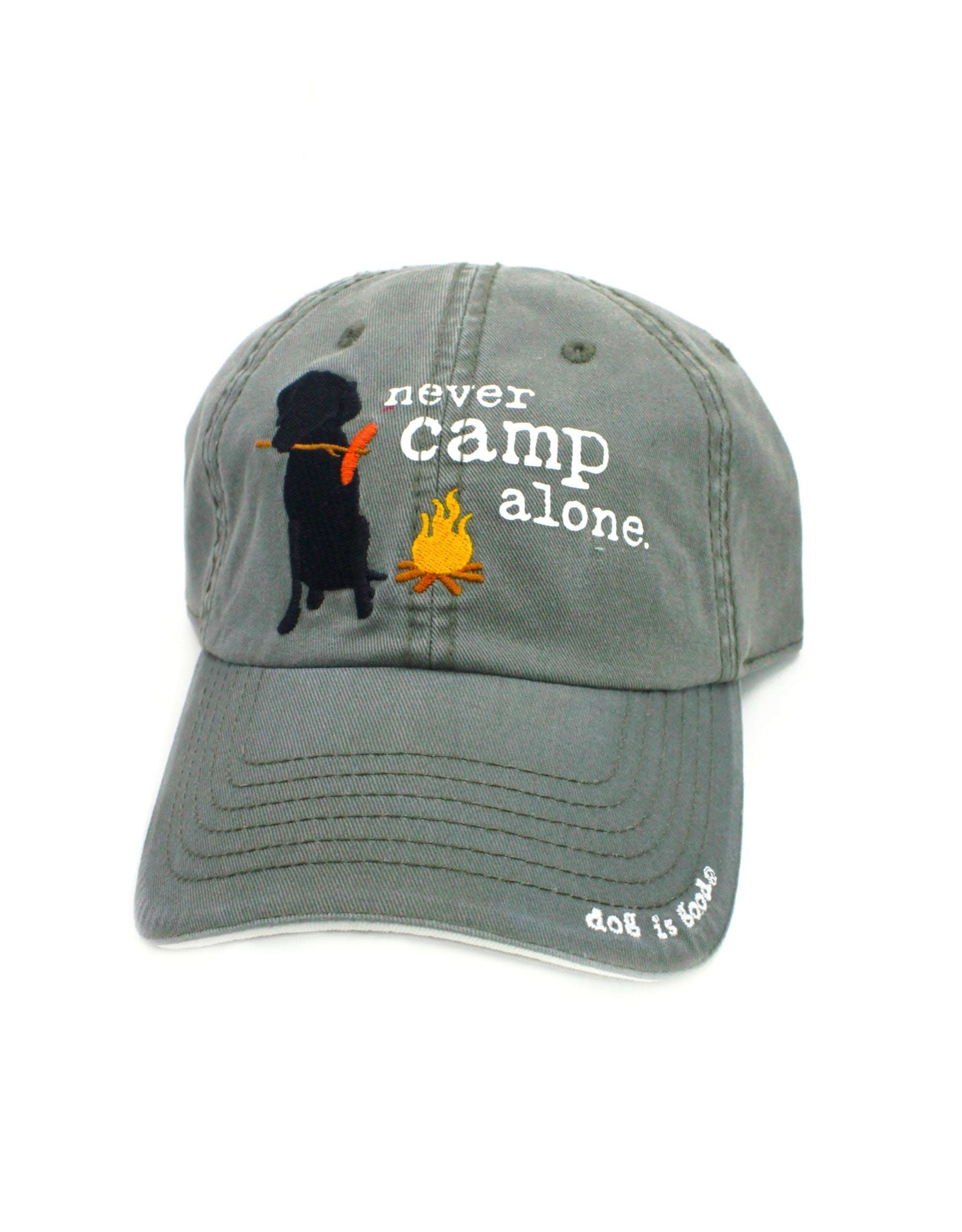 Dog Is Good Cap:  Never Camp Alone