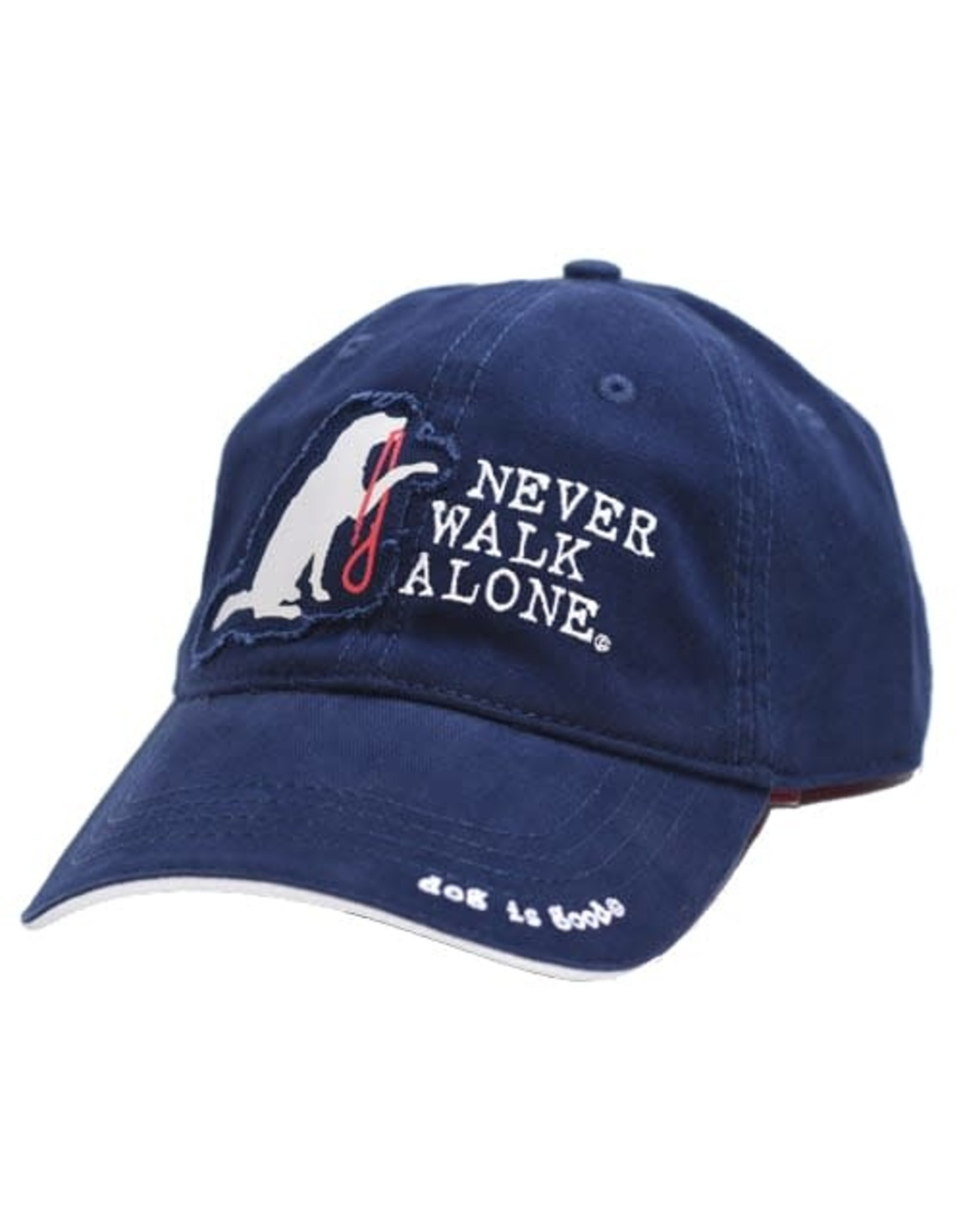 Dog Is Good Cap:  Never Walk Alone
