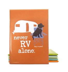 Dog Is Good Magnet:  Never RV Alone