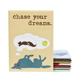 Dog Is Good Magnet:  Chase Your Dreams