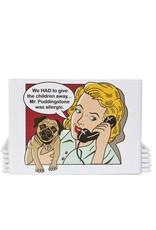 Dog Is Good Magnet:  Mr Puddingstone
