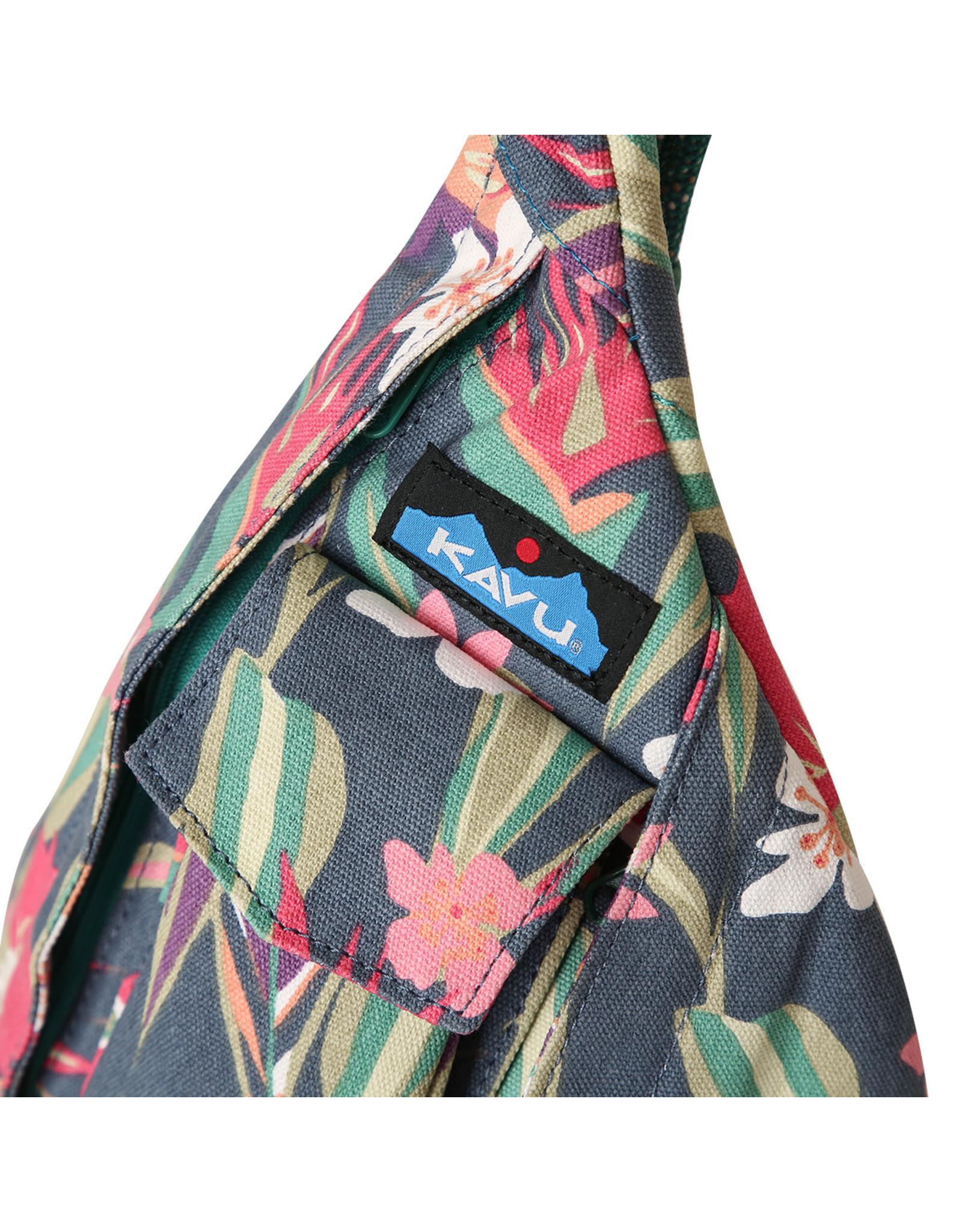 Kavu Mini Rope Bag - Indigo Paradise