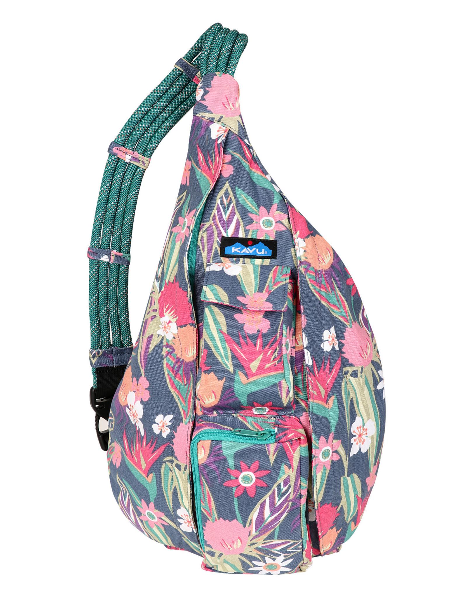 Kavu Rope Bag - Indigo Paradise