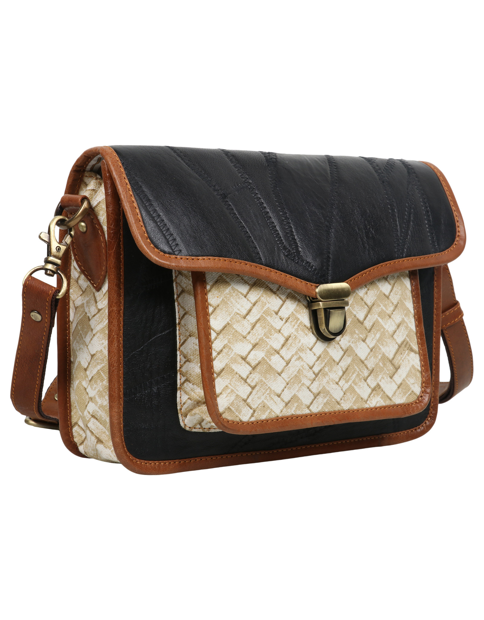Vann & Co S2V-122 Medium Horizontal Crossbody Bag