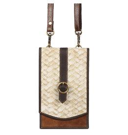 Vann & Co S2V-107 RFID Mobile Wallet Crossbody Bag
