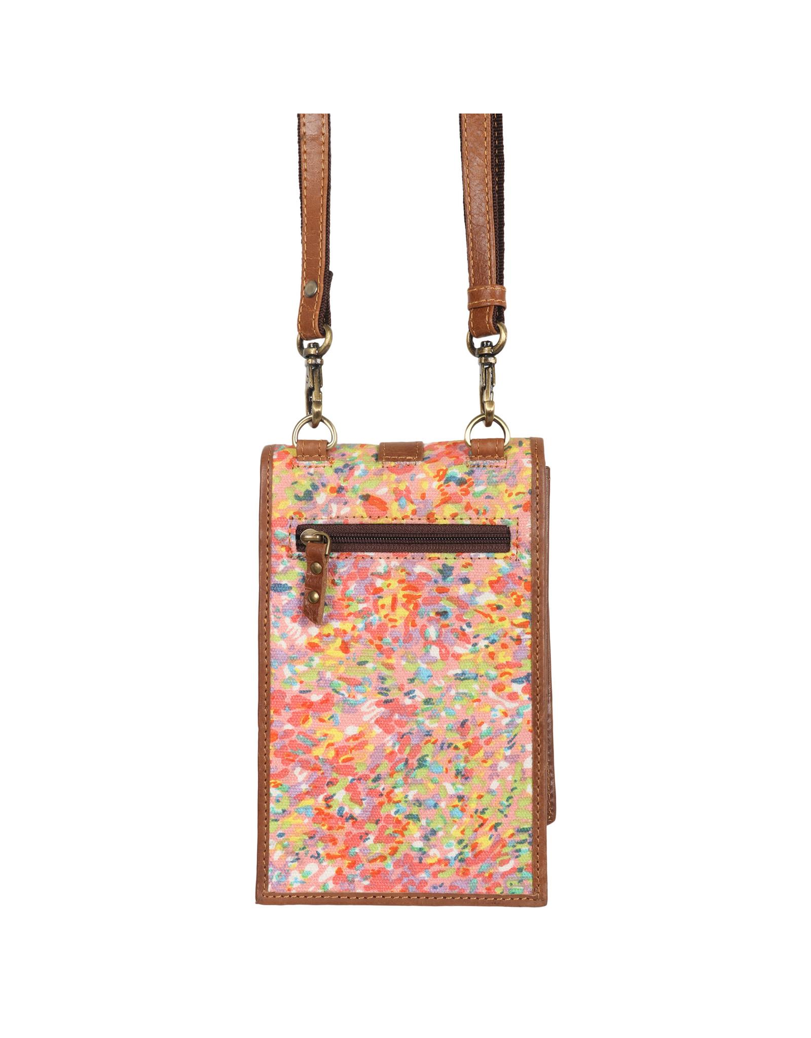 Vann & Co S2V-207 RFID Mobile Wallet Crossbody Bag