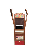 S2V-207 RFID Mobile Wallet Crossbody Bag