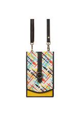 Vann & Co S2V-506 RFID Mobile Wallet Crossbody Bag