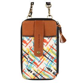 Vann & Co S2V-507 RFID Utility Mobile Wallet Crossbody Bag