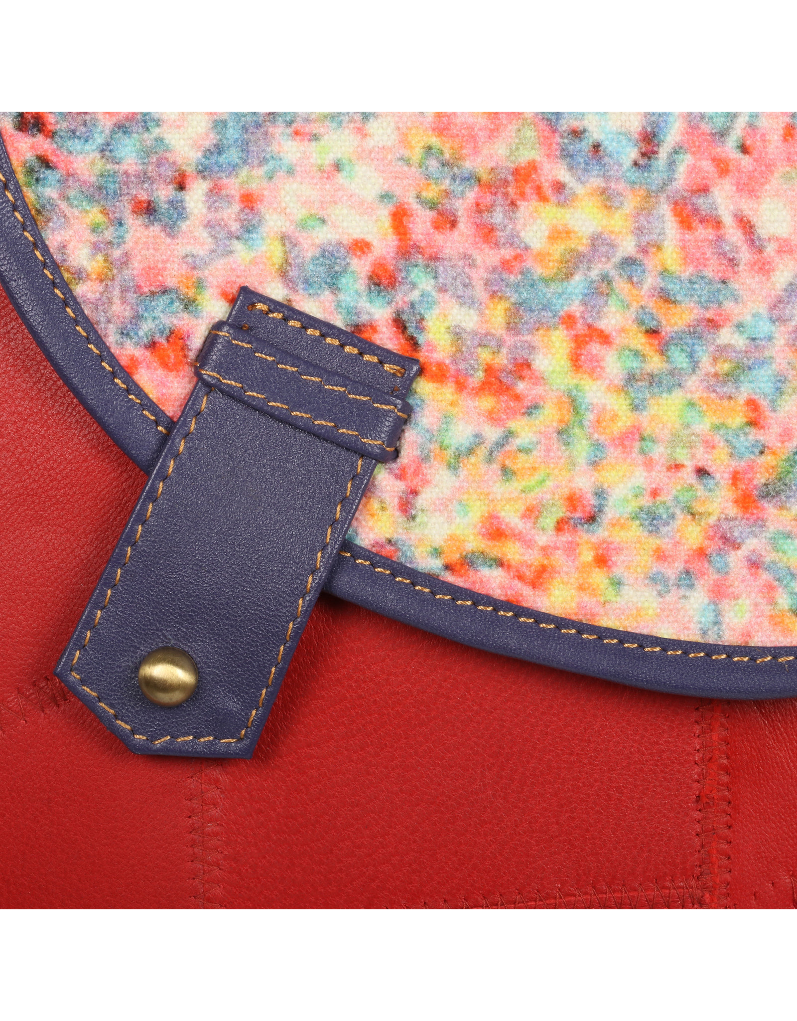 Vann & Co S2V-213 RFID Small Crossbody Bag with Flap