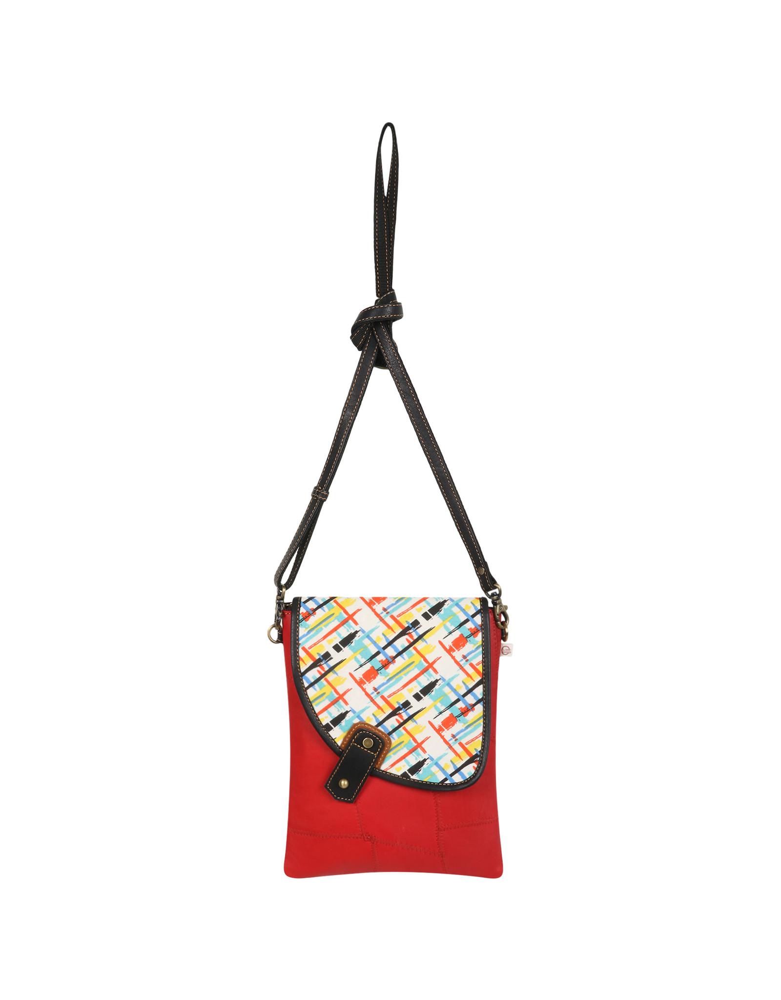 Vann & Co S2V-510 RFID Small Crossbody Bag with Flap