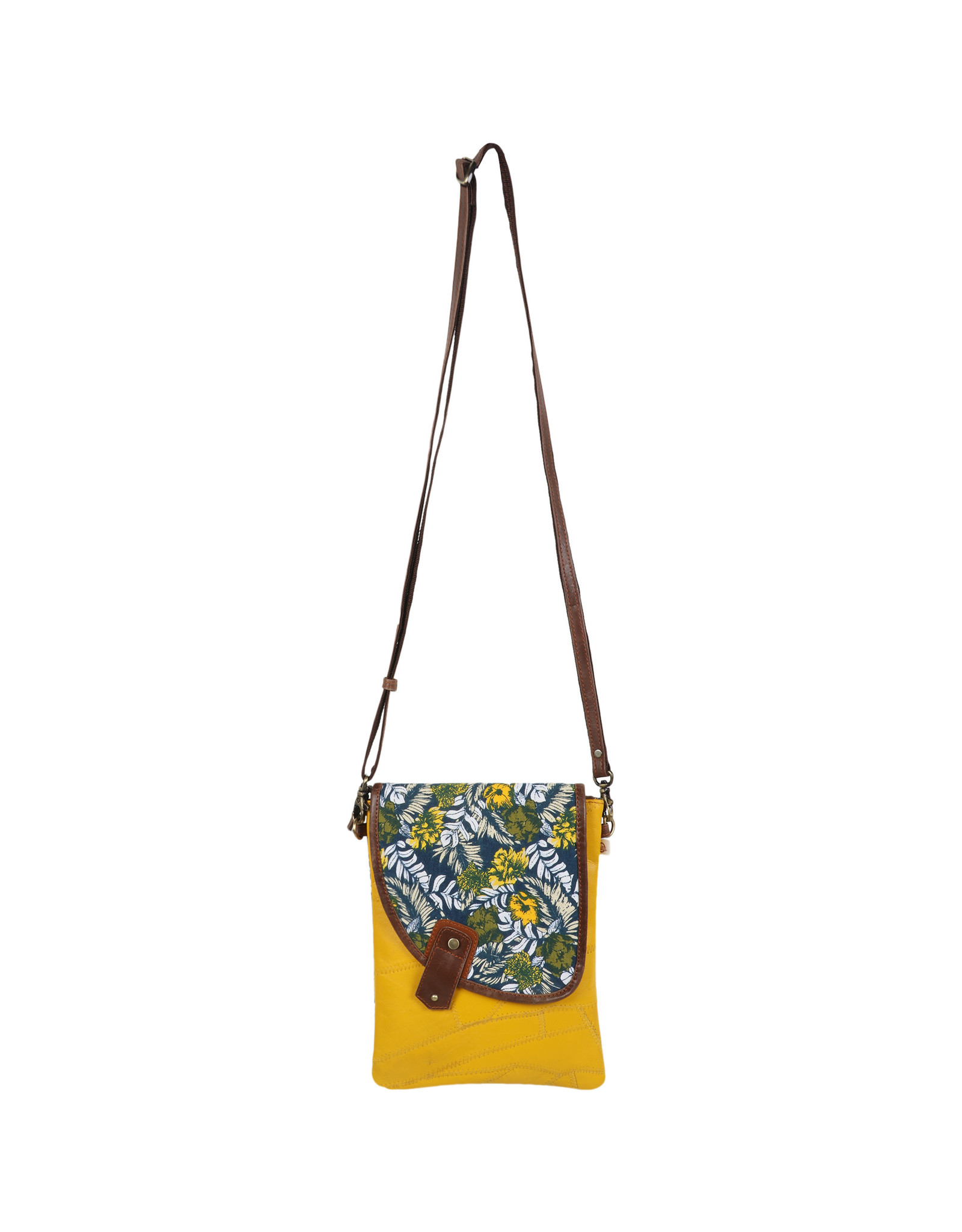 Vann & Co S2V-909 Small Crossbody Bag with Flap
