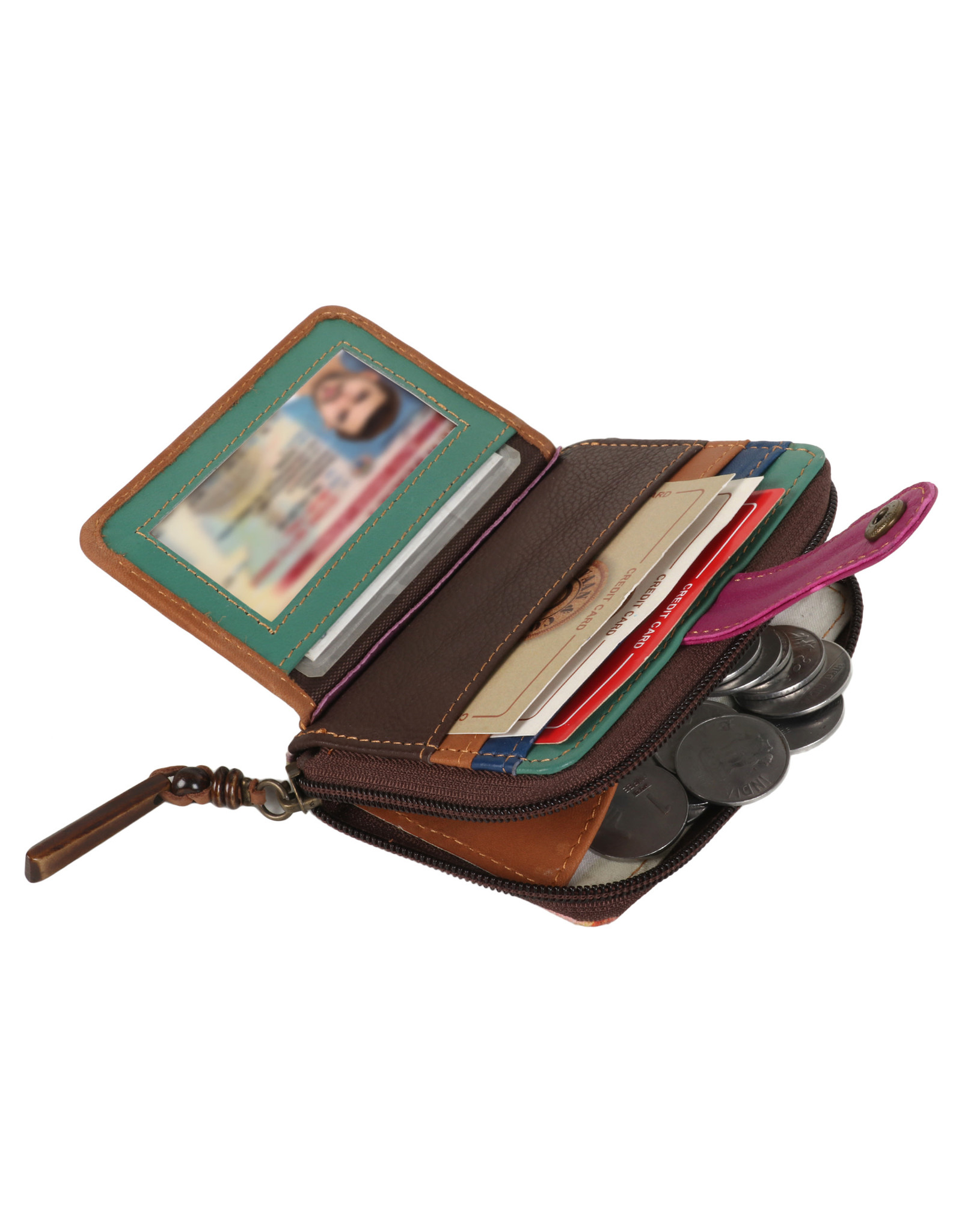 Vann & Co S2V-221 RFID Credit Card Wallet