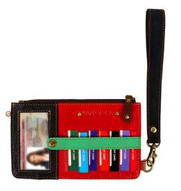 Vann & Co S2V-403 RFID Credit Card Wallet Wristlet