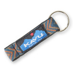 Kavu Key Chain - Teal Geo