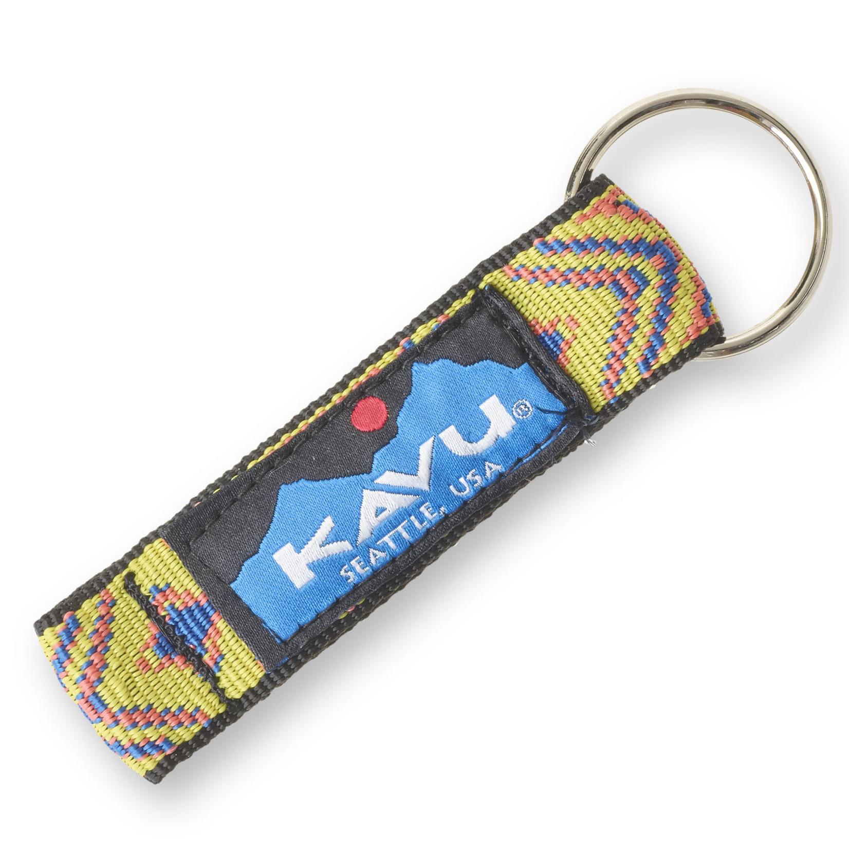 Kavu Key Chain - Yellow Geo