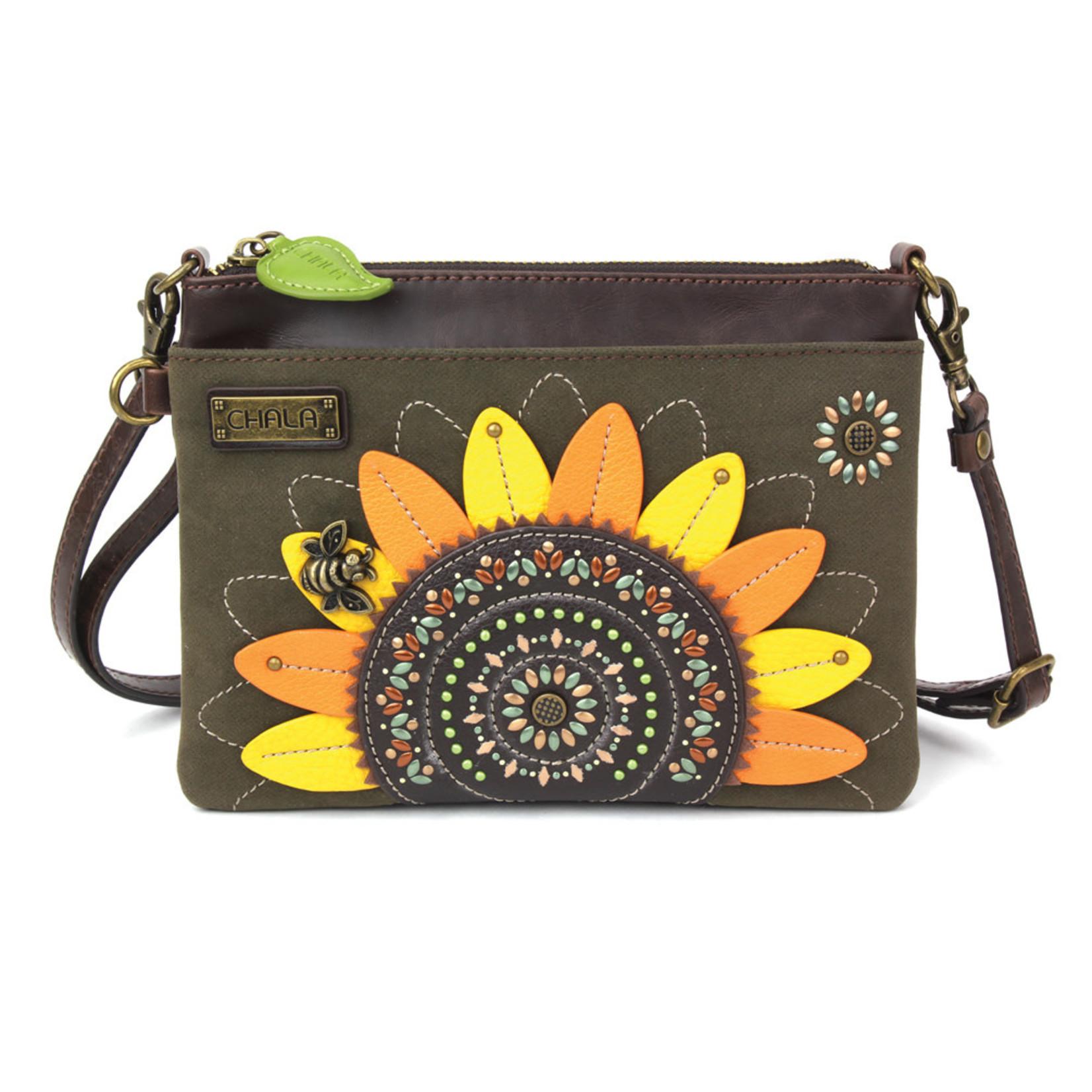 Chala Dazzled Mini Crossbody - Sunflower