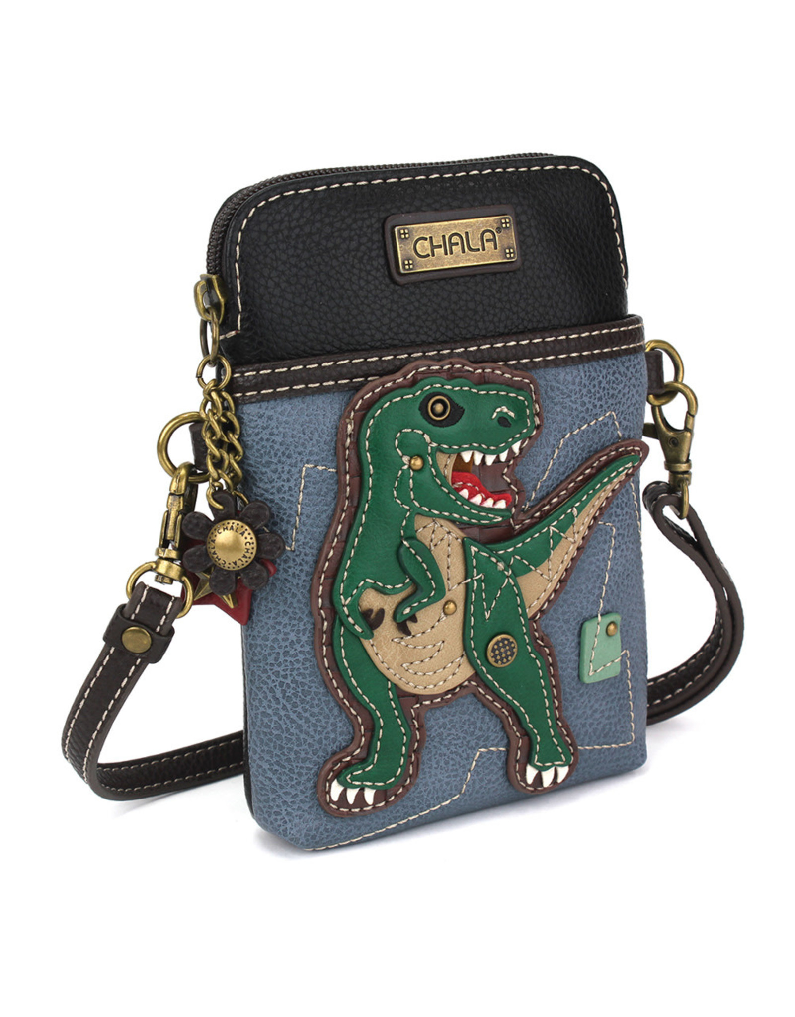 Chala Cell Phone Crossbody - T-Rex