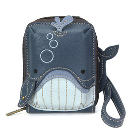 Chala Cute-C Credit Card Holder Wristlet:  Whale