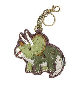 Chala Key Fob Triceratops