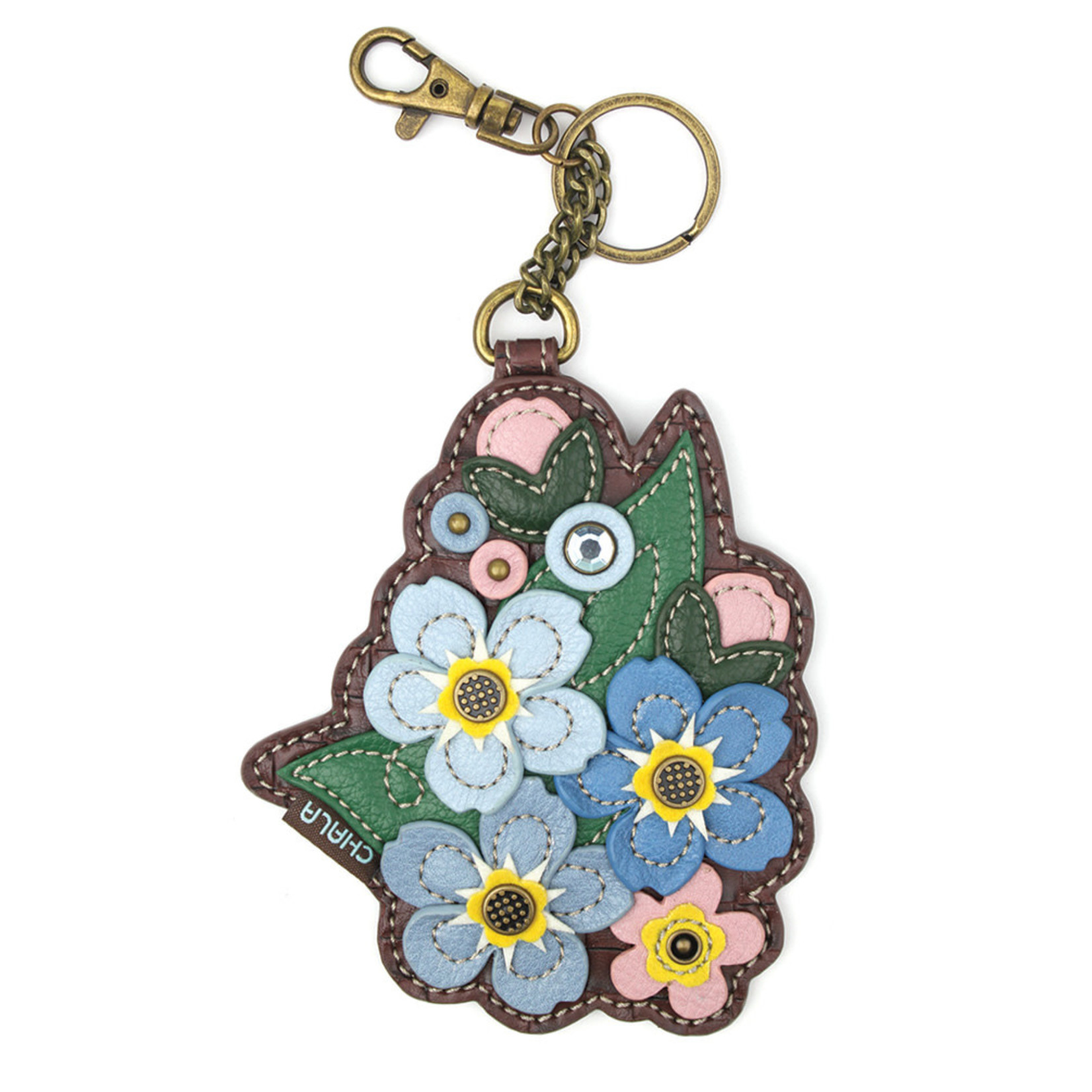 Chala Key Fob Forget Me Not