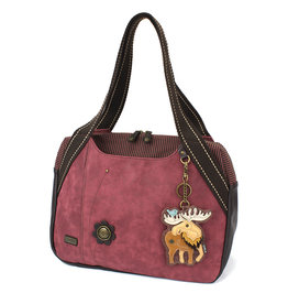 Chala Bowling Bag - Moose - Burgundy