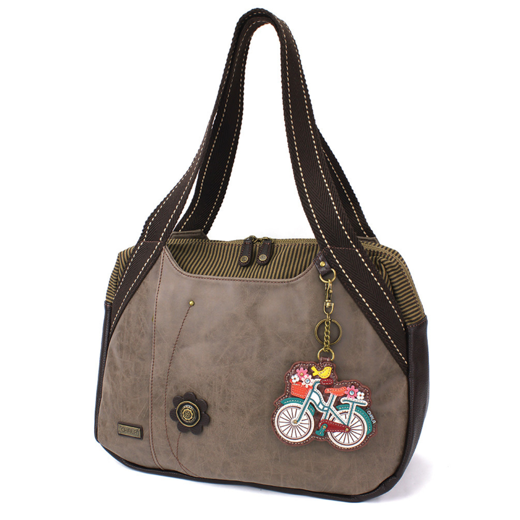 Chala Bowling Bag - Bicycle - Stone Gray