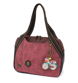 Chala Bowling Bag - Bicycle - Burgundy