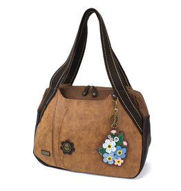 Chala Bowling Bag - Forget Me Not - Brown