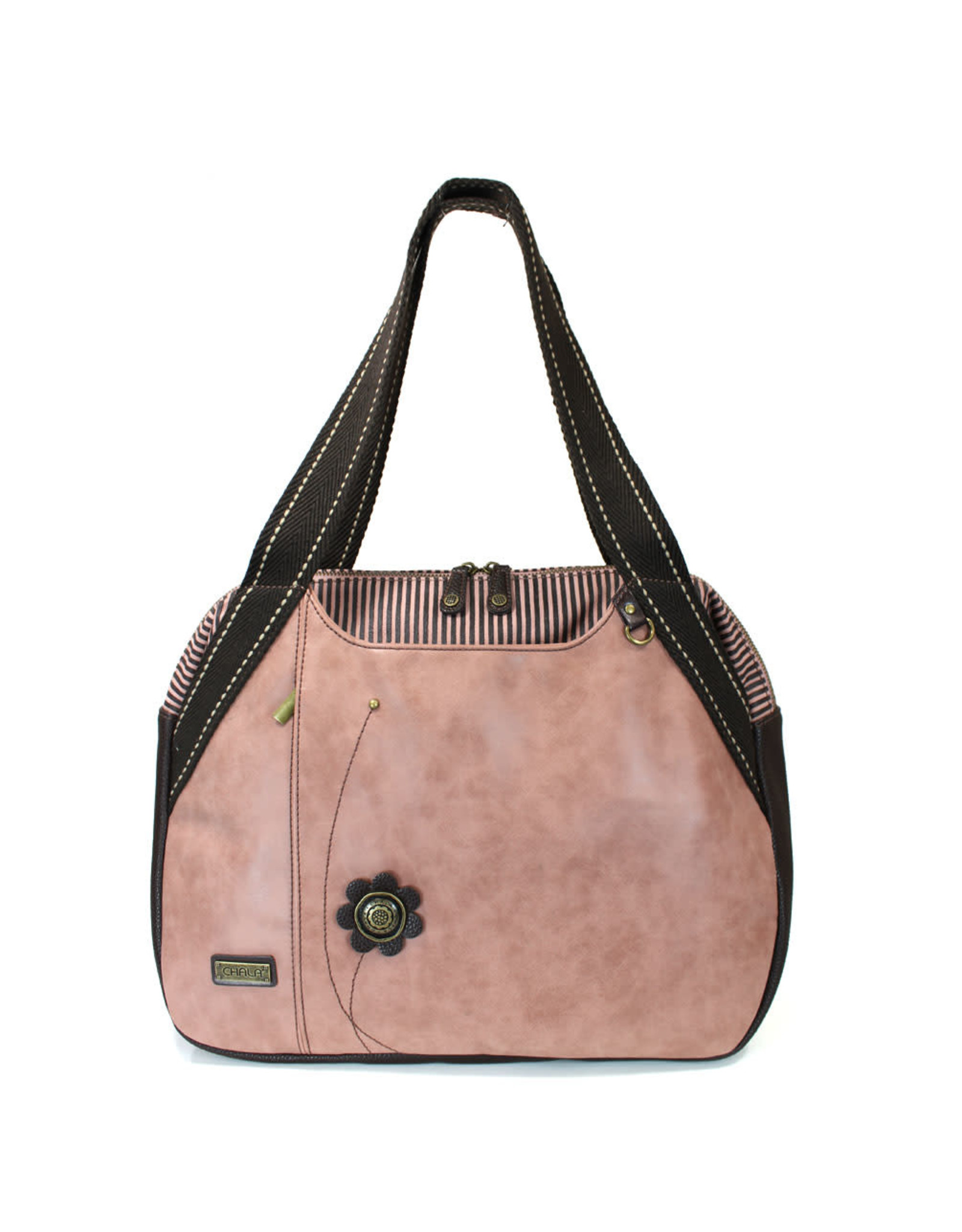 Chala Bowling Bag - Forget Me Not - Dusty Rose