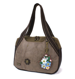Chala Bowling Bag - Forget Me Not - Stone Gray