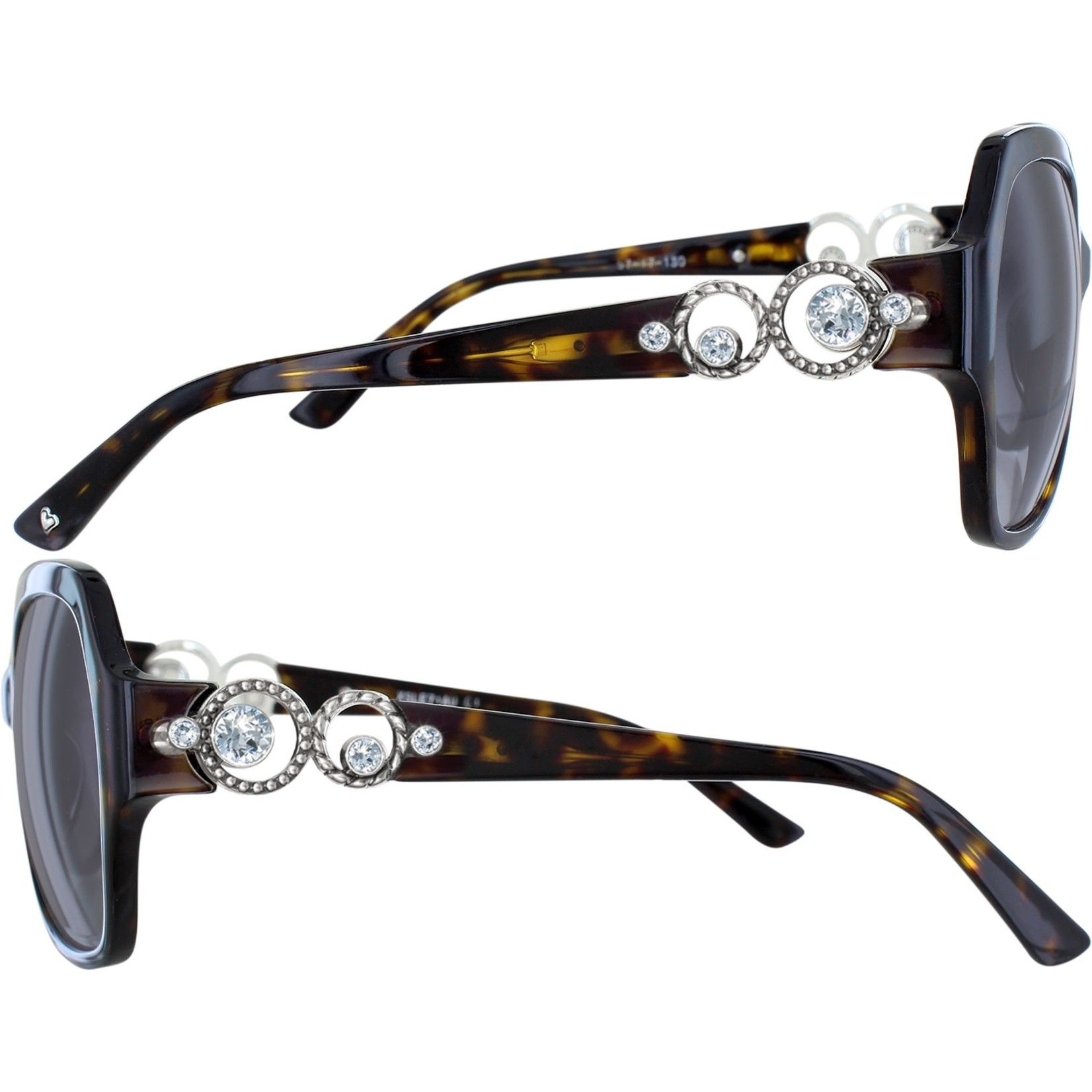 Brighton A12797 Crystal Halo Tort Sunglasses