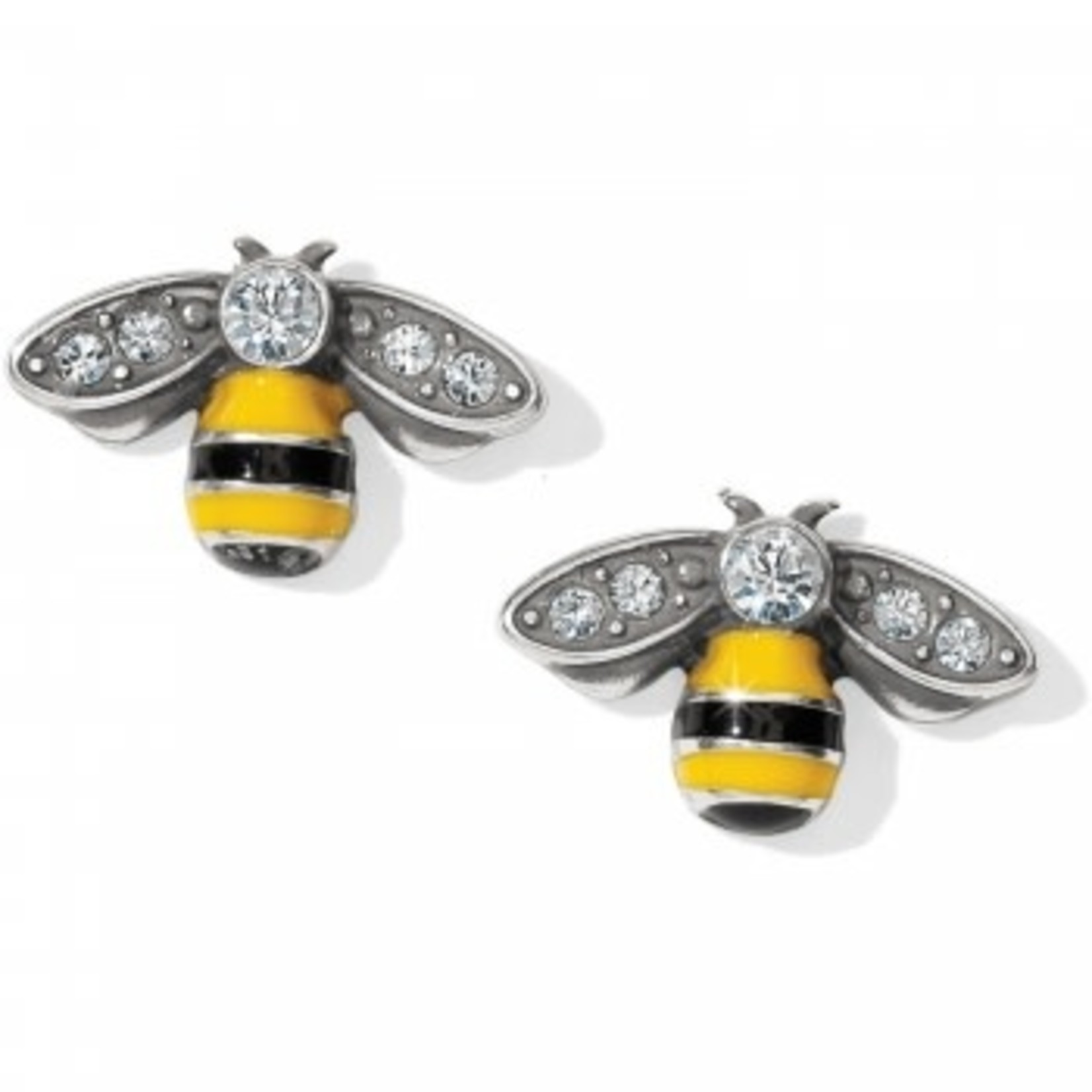 Brighton J22123 Bee Happy Mini Post Earrings