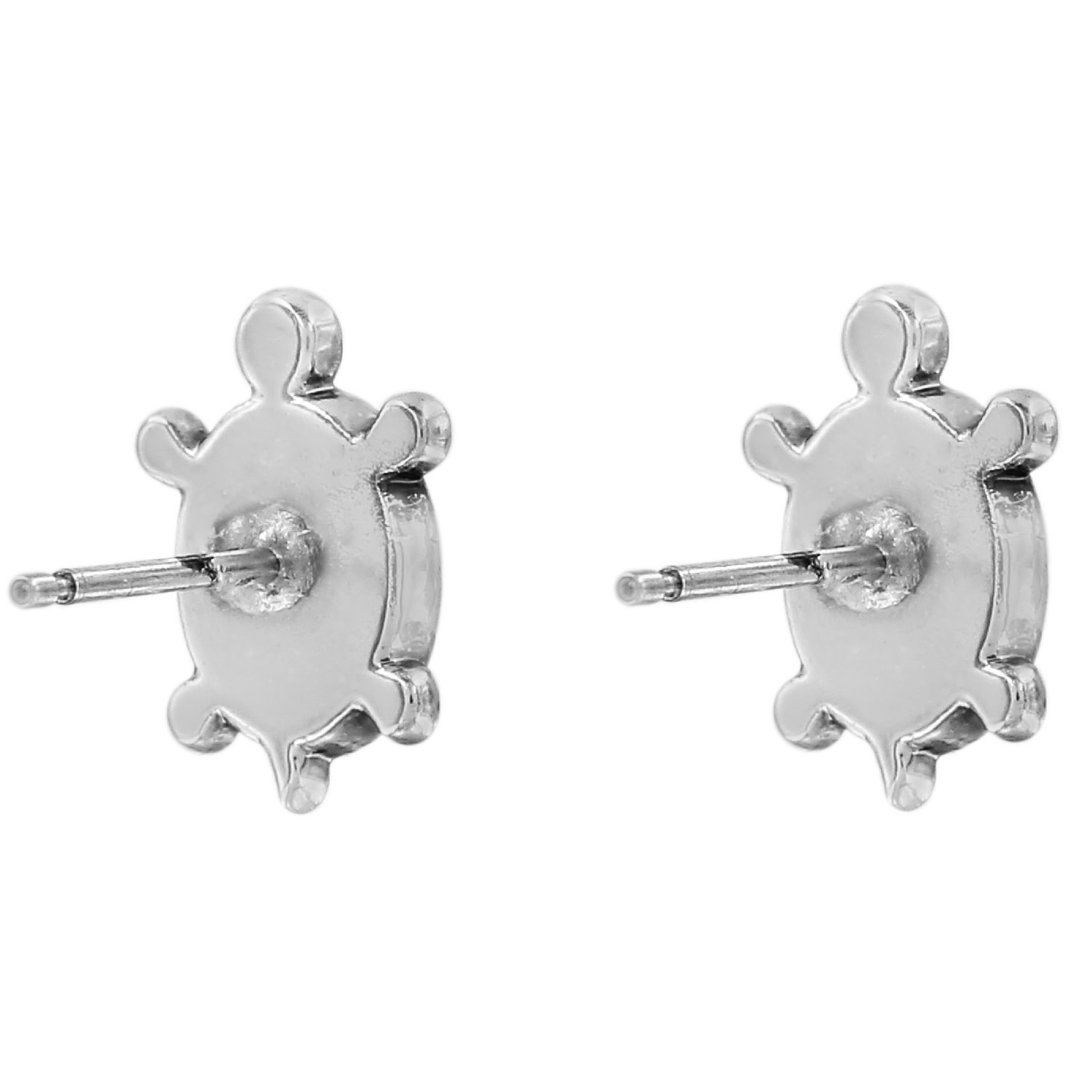 Brighton J22311 Fortune Turtles Mini Post Earrings
