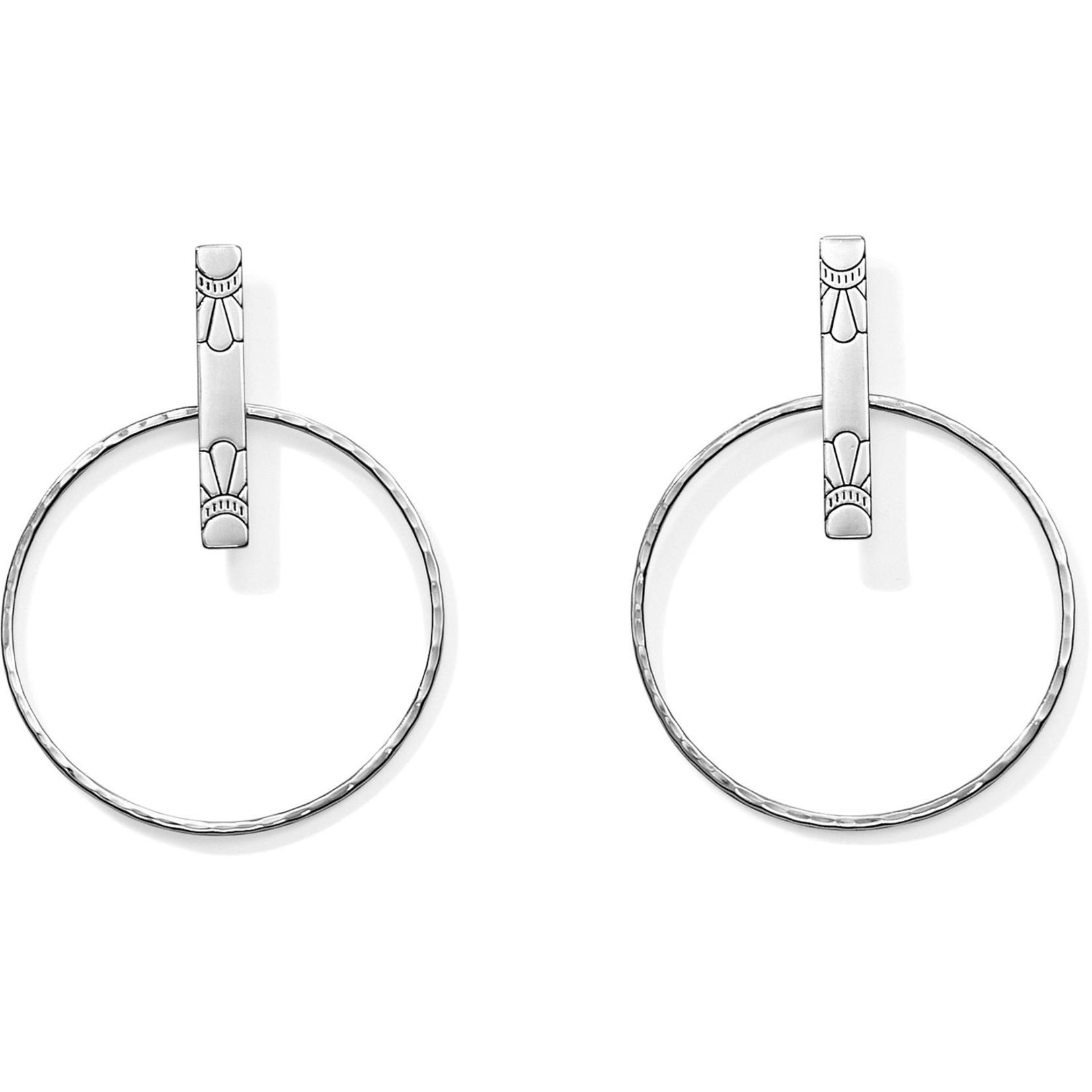 Brighton JA3250 Marrakesh Soleil Post Hoop Earrings