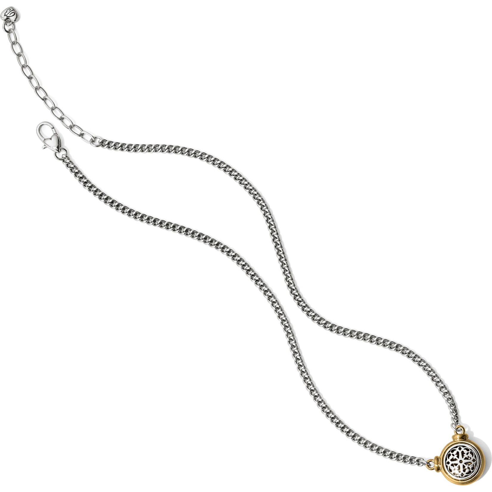 Brighton JM1072 Ferrara Two Tone Short Necklace