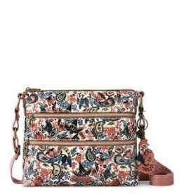 SakRoots Basic Crossbody - Clay Enchanted Forest