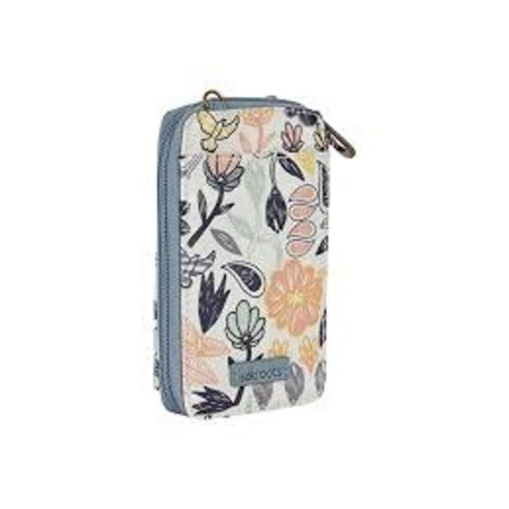 SakRoots Smartphone Wristlet - Multi Peace Birds