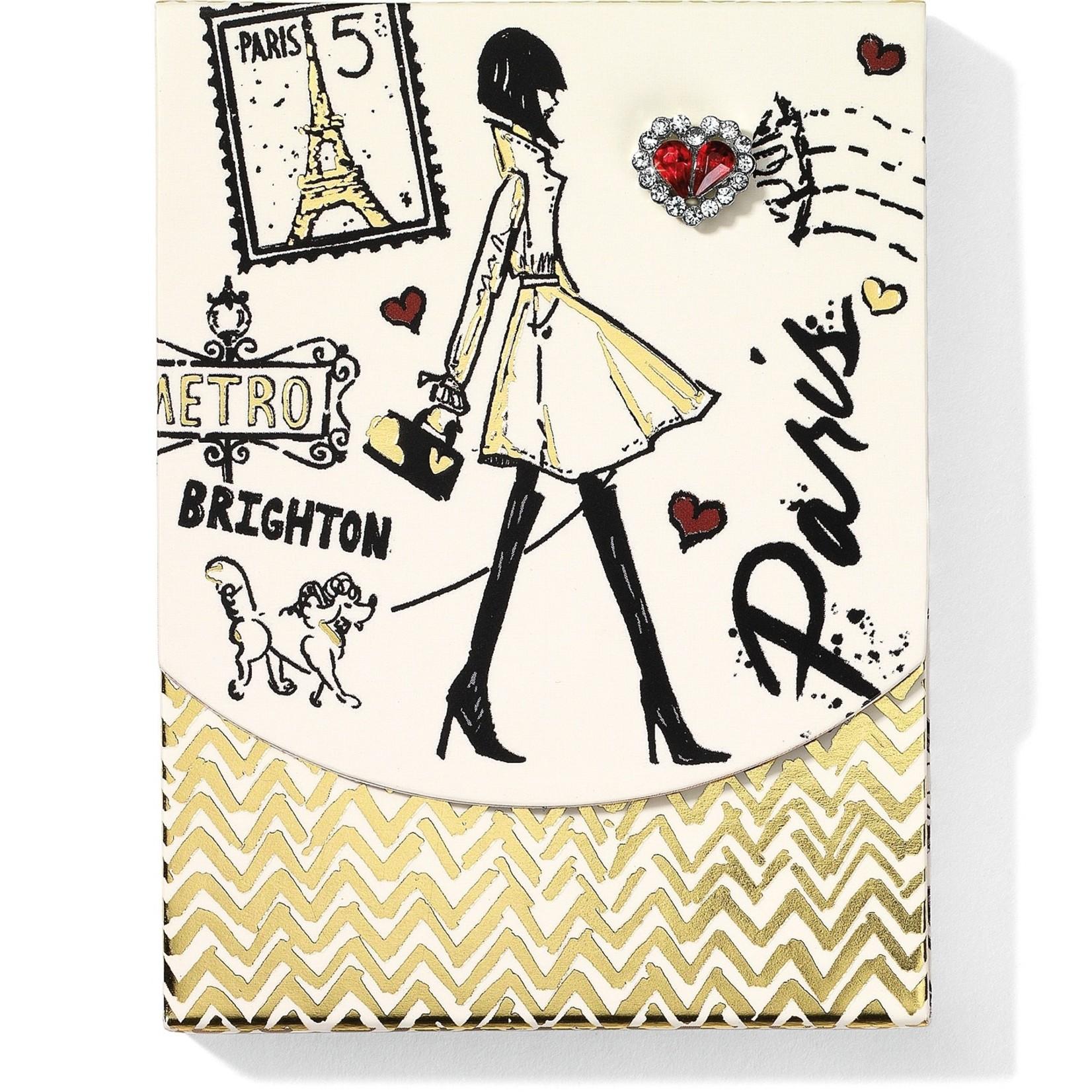 Brighton G82420 Fashion Passport Pocket Notepad