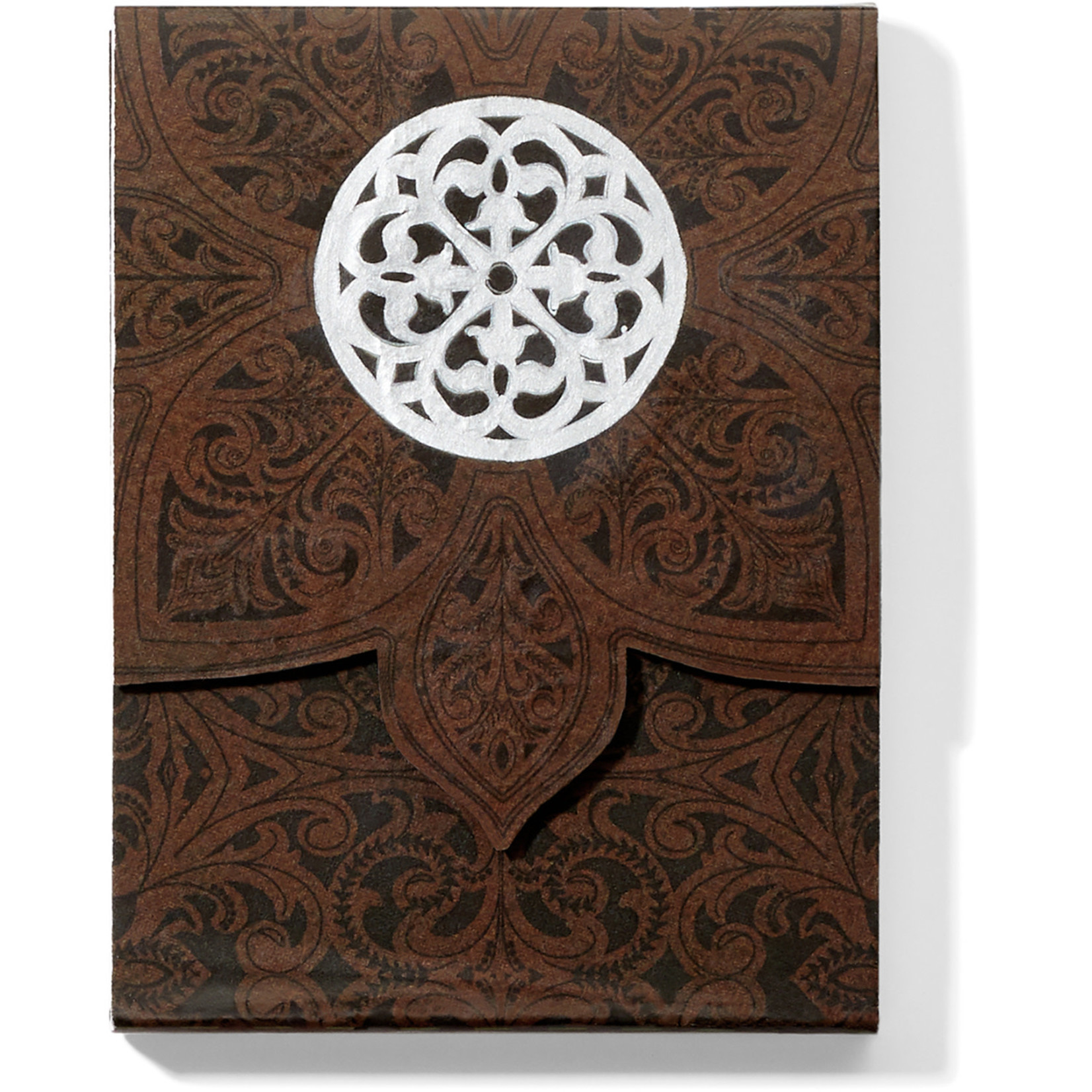 Brighton G82969 Ferrara Rose Window Notepad