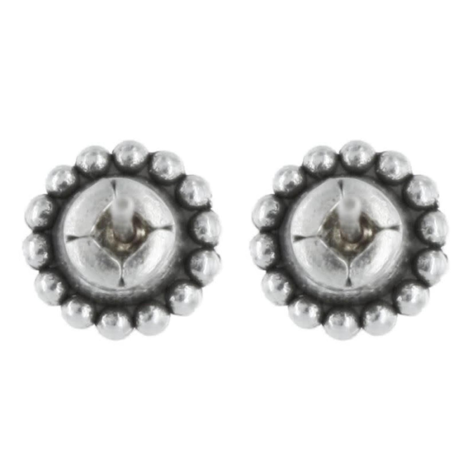 Brighton J20493 Black Twinkle Mini Post Earrings