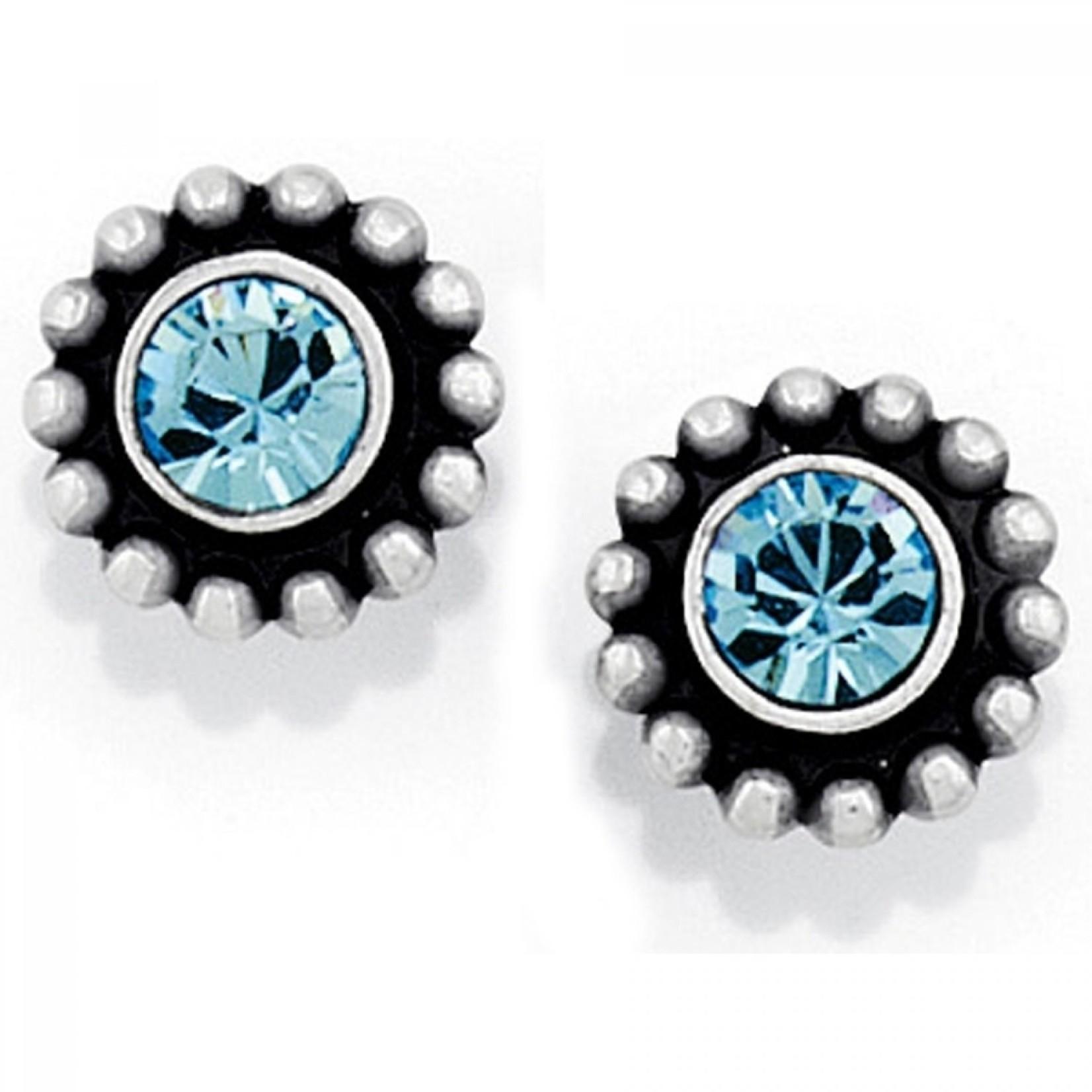 Brighton J20496 Blue Twinkle Mini Post Earrings