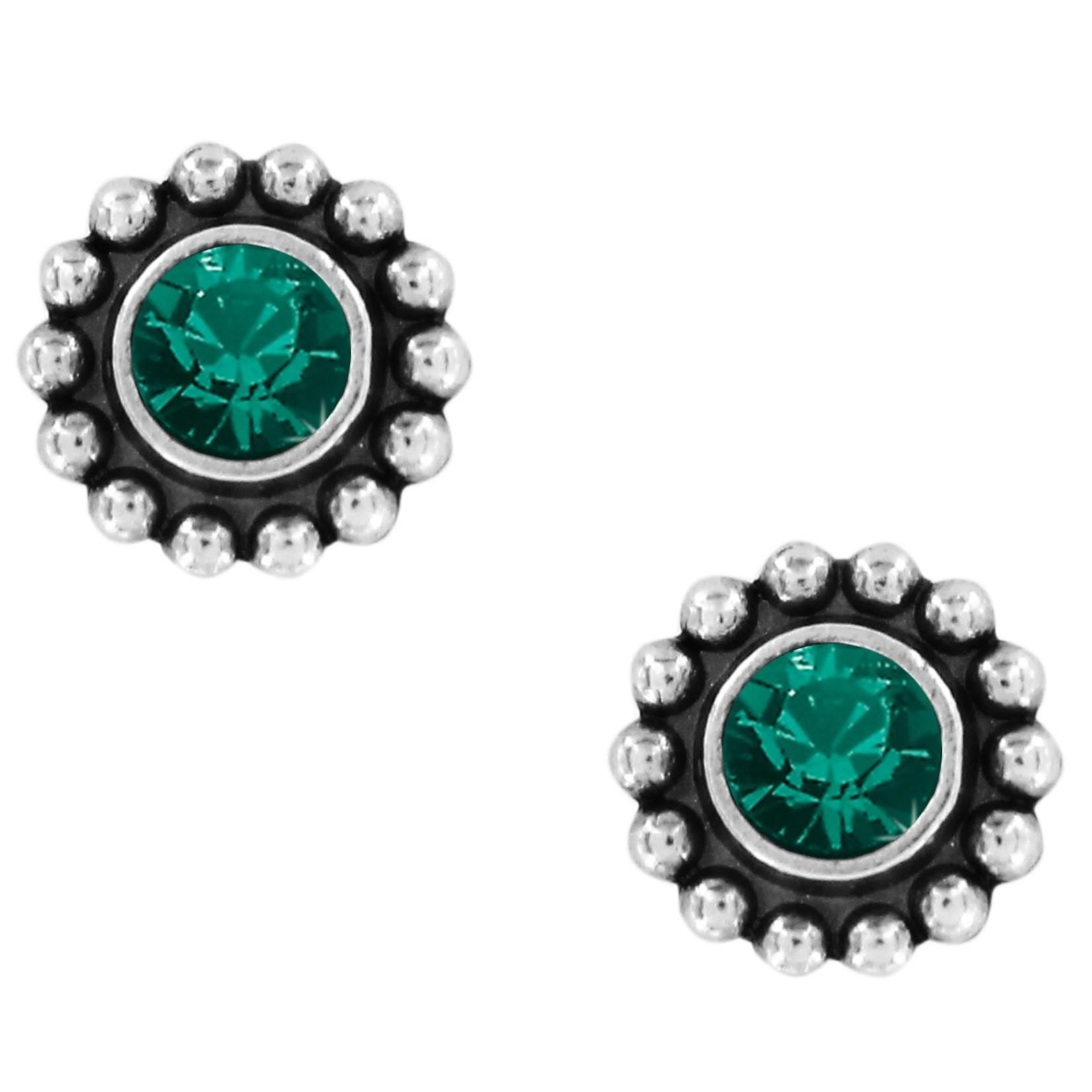 Brighton J2049D Emerald Twinkle Mini Post Earrings