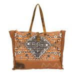 Myra Bags S-2158 Rust Weekender Bag