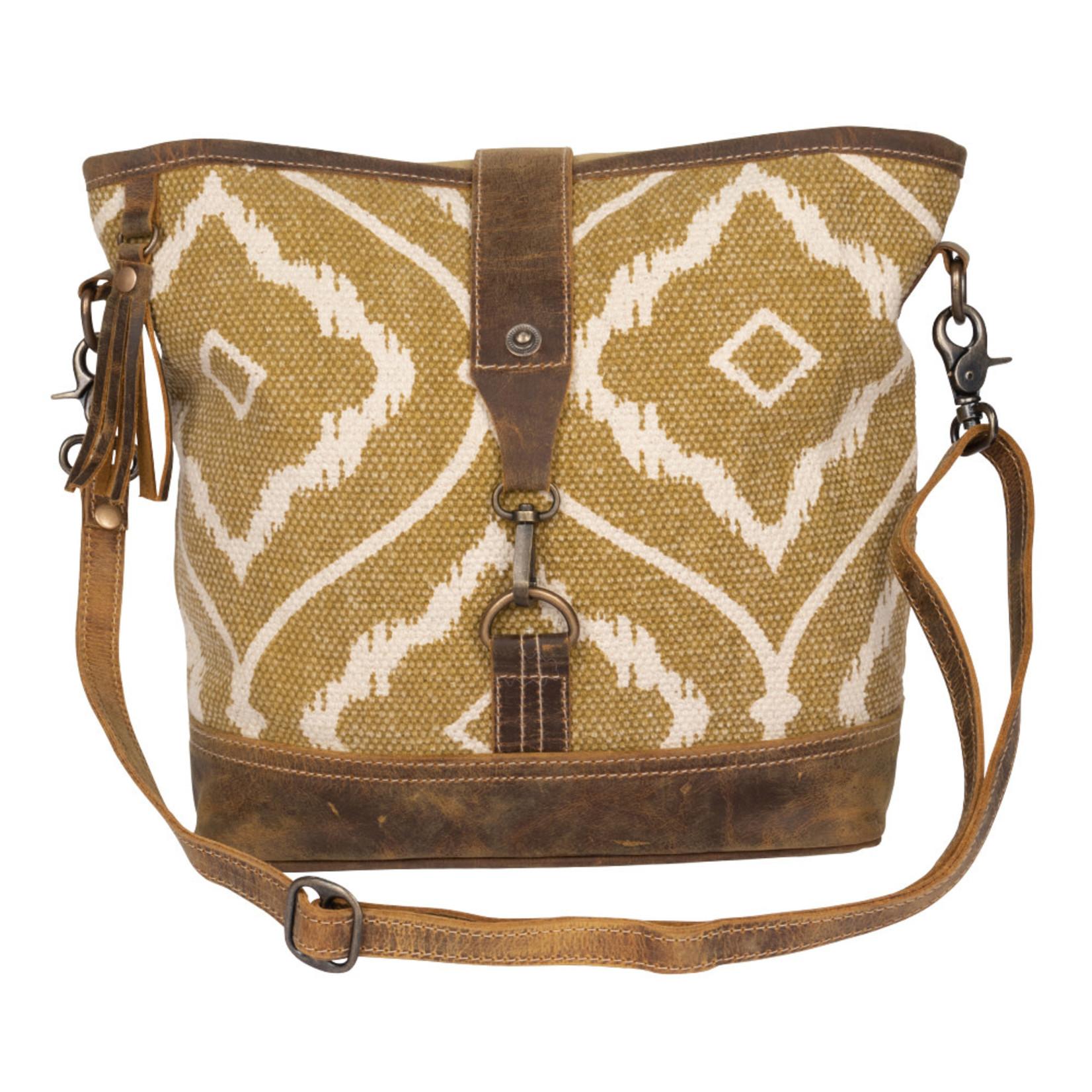 Myra Bags S-2228 Brown Aesthetics Shoulder Bag
