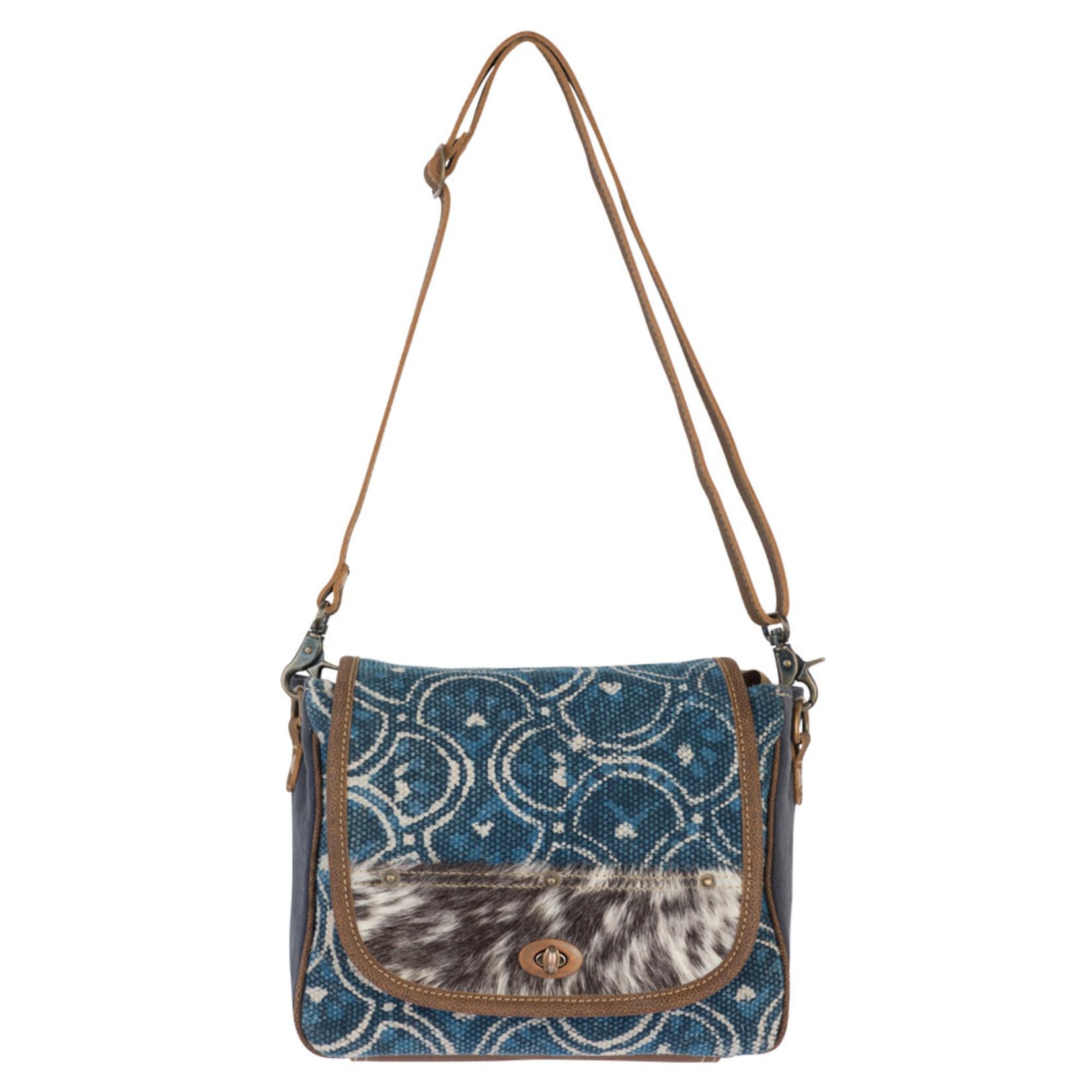Myra Bags S-2236 Cobalt Shoulder Bag