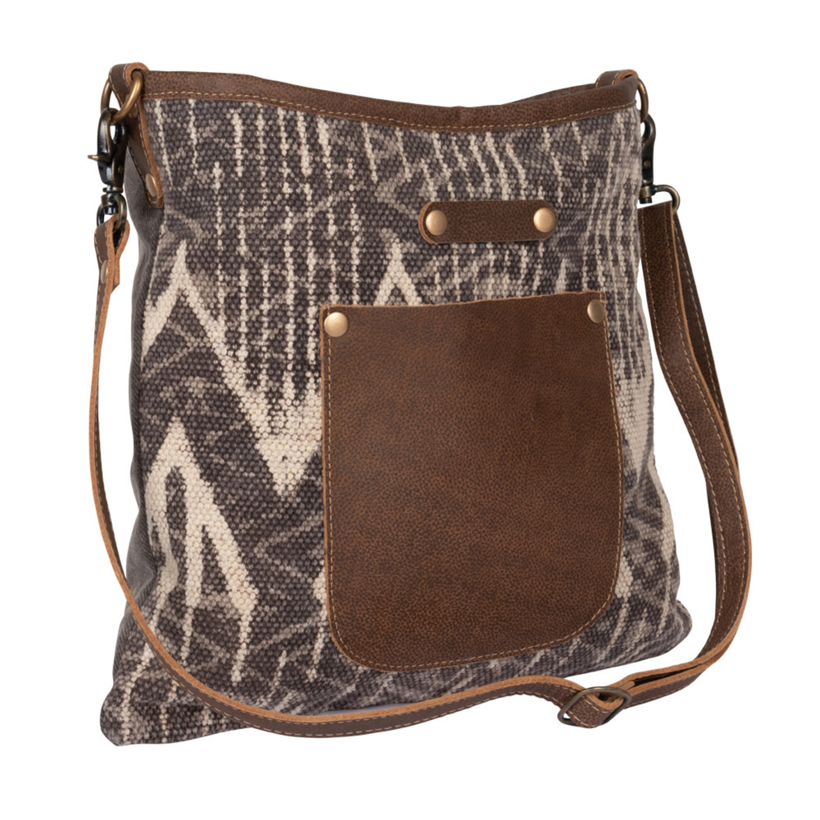 Myra Bags S-2239 Sepia Splash Shoulder Bag